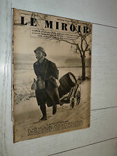 MIROIR 14/01 1940 GUERRE TRAIN FINLANDE CHARS D'ASSAUT WW2