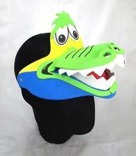 3866e44e Crocodile Animal Foam Visor Hat Cap Zoo Farm Jungle Fancy Dress Costume  Child