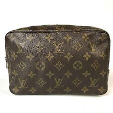 Louis Vuitton monogram true strike wallet 23 makeup bag handbag purse M4 (17-7