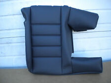 VW Touareg V6 V8 V10 TDI Brand NEW OEM rear seat cover BLACK 7L6885806DNNVH