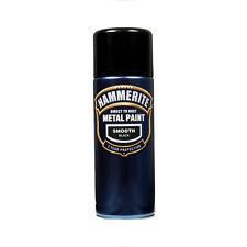 Hammerite 5092965 Metal Paint Smooth Aerosol Black 400ml