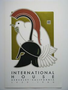 "David Lance Goines ""International House"" Print"