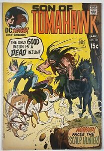 TOMAHAWK #133 VF- (7.5) Son of, Joe Kubert, Frank Thorne art, DC Comics 1971
