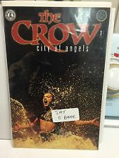 the crow signed by jay o Barr city of angels #1 of three variant