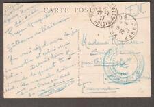 1927 Riff War post card France Morocco Agadir Regiment Senegalais 1 Batallion