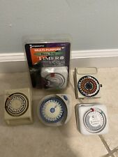Intermatic And GE Multi-Purpose Heavy Duty Timer New And Pre Owned