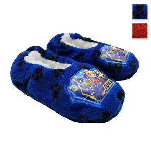Pantofole invernali chiuse Paw Patrol ciabatte peluche bambino bimbo 3412