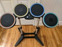 Rock Band 4 Wireless Drum Set, Xbox One Harmonix 91162, No Pedal