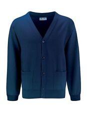 FLEECE CARDIGAN-SWEATSHIRT CARDY-Quality-BLUE MAX-SCHOOL-CHOICE of COLOURS/SIZES