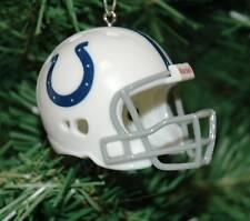 Indianapolis Colts Football Helmet Christmas Ornament