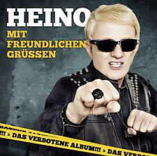 HEINO Mit Freundlichen Grüßen Coversongs Ärzte Rammstein Clueso CD 2013 * NEU