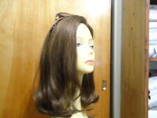 "New Malky 100% Kosher Human Hair Wig Sheitel 16""  Light Brown& Highlights 10-6-8"