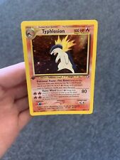 Typhlosion First Edition Neo Genesis 16 Mint See Corner