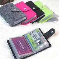 Women Men Small Mutil-Prayer Casual Holder Pocket Case Slim Purse Wallet Unisex