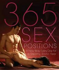 365 Sex Positions New Paperback Book