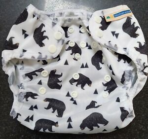Motherease duo cover, one size (10-35lb). Bear design. Brand new.
