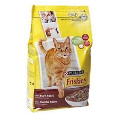 Pienso para gatos PURINA FRISKIES BUEY & POLLO & VERDURAS 4Kg