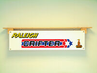 Raleigh Grifter BANNER Stars and Sripes bicycle Display sign PVC poster