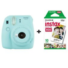 Fuji Fujifilm Instax Mini 9 Instant Camera with 10 Shots - ICE BLUE