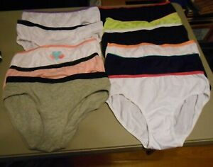 11 PAIR GIRLS SIZE 16 PANTIES NEW WITHOUT TAGS