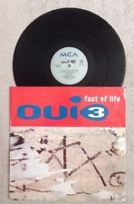 """OUI 3 """"FACT OF LIFE / ACCESSORY AFTER THE FACT"""" 12"""" Single 1993"""