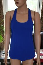 Fabletics Blue Workout Gym Sports Top Size XS - UK 6 - 8