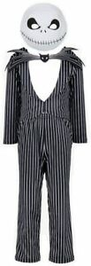 Jack Skellington Nightmare Before Christmas Fancy Dress Outfit Costume Book Day