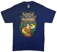 Disney Parks - Beauty and The Beast Gastons Tavern Short Sleeve Blue T-Shirt - M