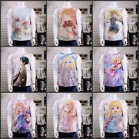 Anime Your Lie in April Miyazono Kaori Unisex T-shirt Short Sleeve TEE#M-T319