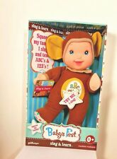 Goldberger  Basic Training Sing & Learn Doll in Monkey Outfit New