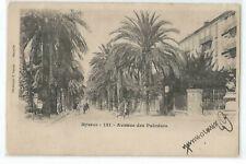 83 HYERES , AVENUE DES PALMIERS