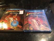 Indiana Jones and the Raiders of the Lost Ark Blu-ray Digital Hd New Sealed Slip
