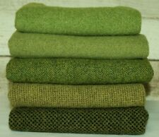 """HAND DYED RUG HOOKING WOOL Mill-Dyed ~ """"GREEN with ENVY-II"""""""