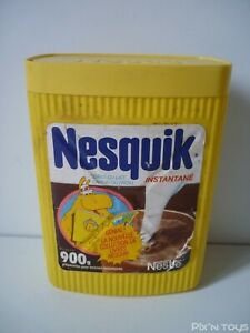 Boite Vintage Nesquik 900g Nestlé / Groquik Années 70/80