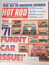 Hot Rod Magazine New 302 V8 Maverick Grabber April 1971 042517nonrh