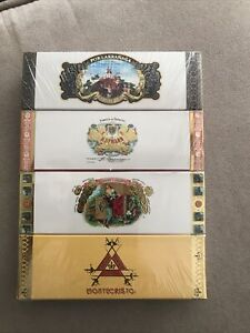 4 Boxes Montecristo , H. Upmann ,Romeo Y Julieta, Por Larranaga CIGAR MATCHES