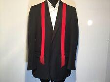 Wilke-Rodriguez Mens Suit Coat 46 x-long Wool Drk Grey 2-button - no pants 0060