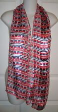 Republican Elephant Scarf Red White Blue Patriotic Political