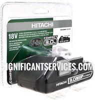 New Hitachi 18V BSL1830C Li-Ion 3.0Ah SLIDE Battery for Lithium UC18YKSL Charger