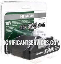 New Hitachi 18V BSL1830C Li-Ion 3.0Ah SLIDE Battery for Lithium UC18YKSL Charger
