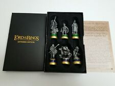 Lord of the Rings Trilogy Collectible 6-Character Pewter Figurine Set - Gandalf
