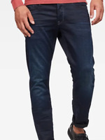 G-Star Tapered Jeans Mazarine Blue Mens UK 30 L32 *Ref31-16
