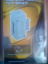 EMTEC adaptateur téléphonique fiche gigogne 6 contacts RJII Type 6/4