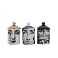 Fornasetti Candle Holder Jewerlry Storage Dressiing Pen Jar Cup Makeup Pen