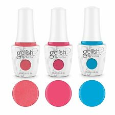 Gelish Mini Selfie Collection 9 mL Bottle Soak Off Gel Nail Polish Set (3 Pack)