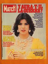 Paris Match N° 1706 du 5/2/1982-25 ans de Caroline-Le gang des jeux-Ecole libre