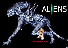 Movie SCI-FI Alien Xenomorph warrior Crawl 1/6 Figure Vinyl Model Kit