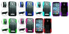 Screen Protector + Hybrid Case Cover for Alcatel One Touch Pop Mega A995L A995G