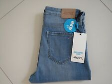 BN Riders by Lee Ladies Blue Girlfriend Distress Stretch Cropped Jeans Size 11
