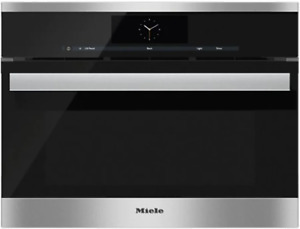 """Miele DGC68001XLSS PureLine M-Touch Series 24"""" Electric Single Wall Steam Oven"""